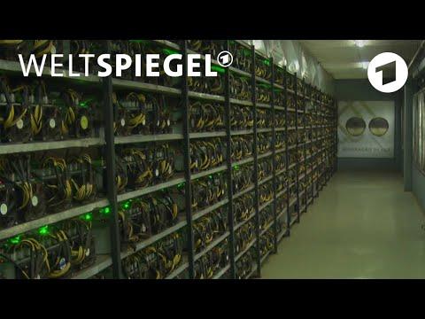 Goldgräberstimmung dank Krypto-Währung | Weltspiegel