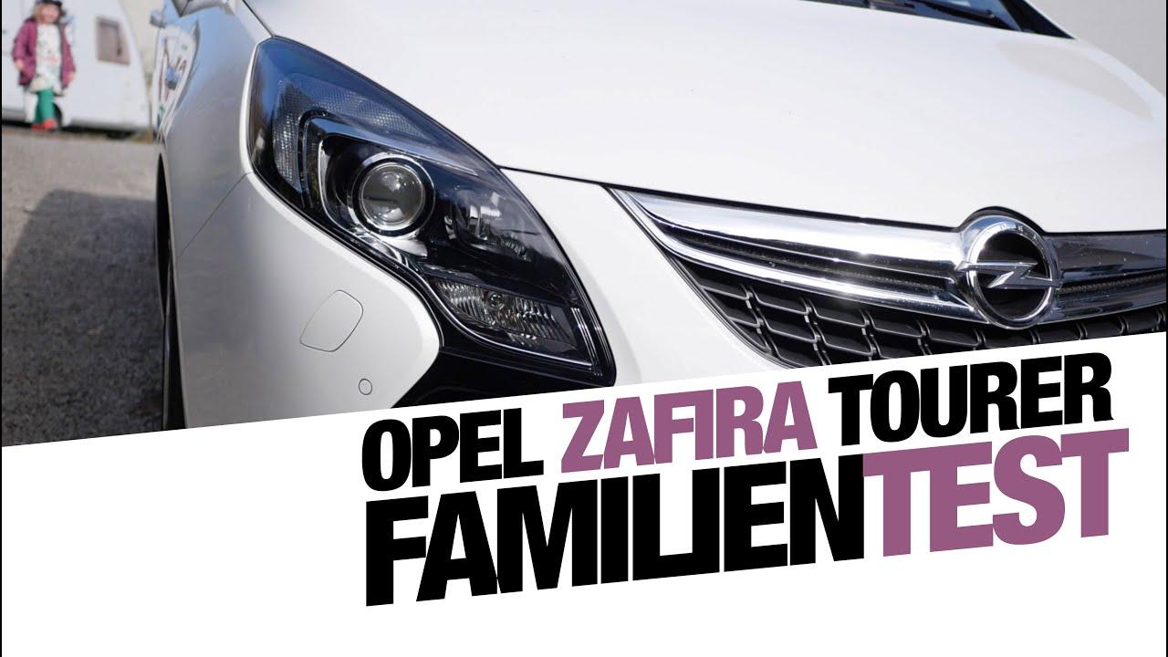 Opel Zafira Tourer Im Familien Test