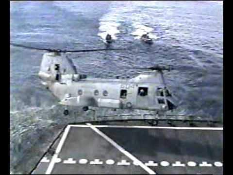 Marine H-46 crash