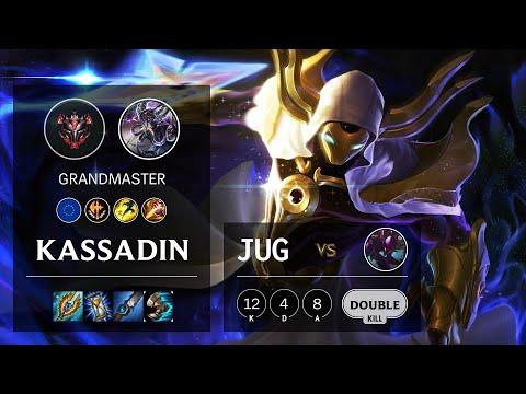 Kassadin Jungle vs Kha'Zix - EUW Grandmaster Patch 10.16