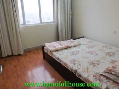 3 bedrooms, furnished cheap apartment for rent in Ciputra urban, Tay Ho dist