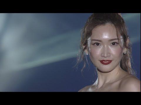 紗栄子、ヌードカラーのビスチェドレスで魅了 TGC熊本に「九州人としてうれしい」
