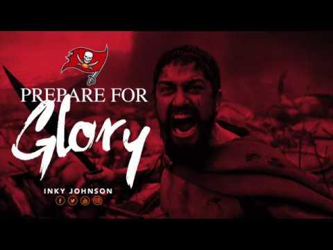 INKY JOHNSON - PREPARE FOR GLORY  (TAMPA BAY BUCS)