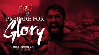 INKY JOHNSON - PREPARE FOR GLORY  (TAMPA BAY BUCS)