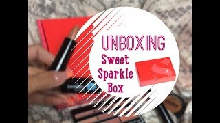 UNBOXING SWEET SPARKLE BOX ♡