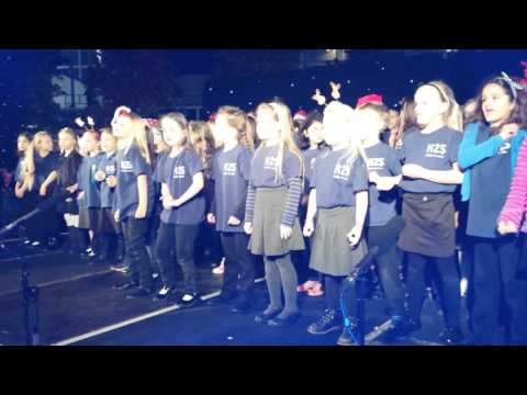 Here To Sing - Heronsgate School students perform at Milton Keynes Christmas Lights switch on 2015