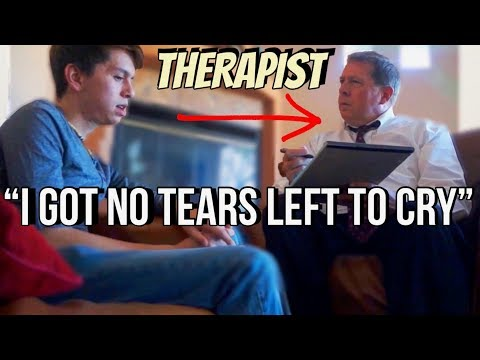 Pranking My THERAPIST With Ariana Grande Lyrics (He thinks I'm Insane)