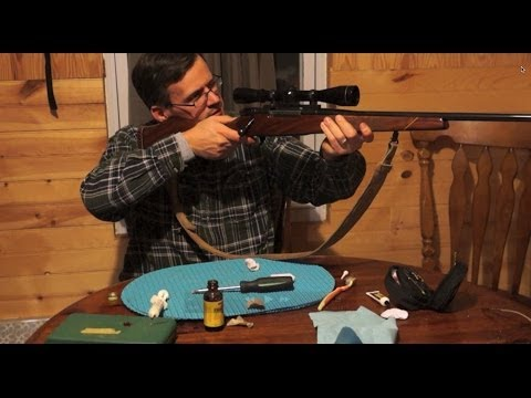 Disassembly, cleaning and reassembly of a Weatherby Mark V