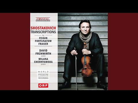 The Gadfly Suite, Op. 97a: VIII. Romance (arr. for Violin and Piano By Konstantin Fortunatov)