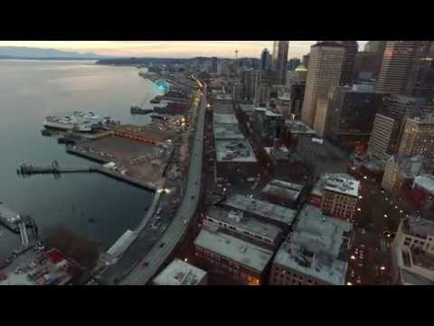 A Trip Above Downtown Seattle