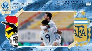 Bolivia 1 - 2 Argentina - HIGHLIGHTS & GOALS - (10/13/2020)