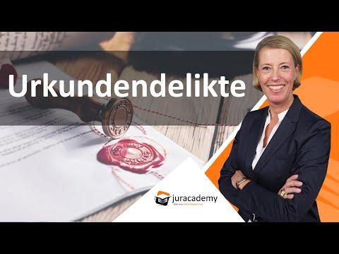 Urkundendelikte - Übersicht - Tathandlungen § 267 StGB ► Juracademy.de