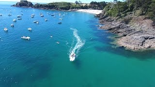 Video Overview Fort Bertheaume to Brest - Brittany: Drone 4 Phantom download MP3, 3GP, MP4, WEBM, AVI, FLV November 2017