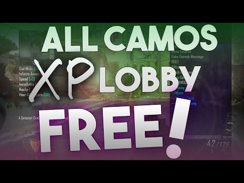FREE BLACK OPS 2 MODDED LOBBY!! (camos/xp) xbox one xbox 360