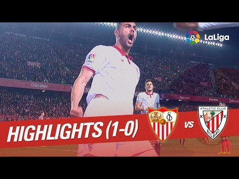 Resumen de Sevilla FC vs Athletic Club (1-0)