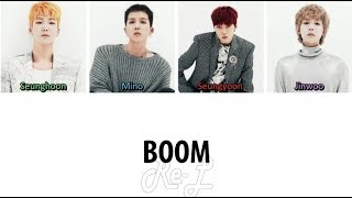 WINNER - 'BOOM' LYRICS (Color Coded ENG/ROM/HAN)