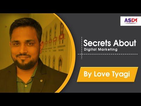 Free Digital Marketing Tutorials For Beginners - Online business By Love Tyagi