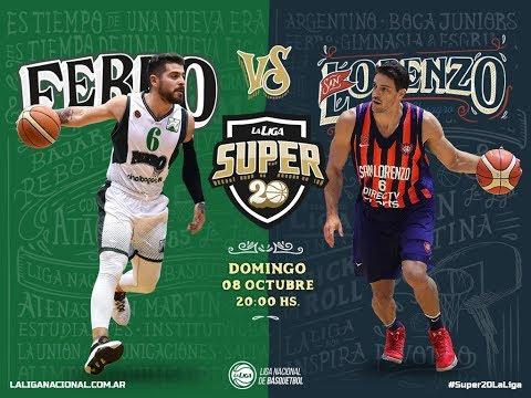 Liga Nacional: Ferro vs. San Lorenzo | #Super20enTyC
