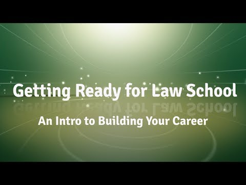 Stetson Law Live - Getting Ready for Law School: An Intro to Building Your Career