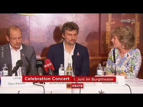 Jonas Kaufmann bei Life-Ball Konzert im Burgtheater Wien 2018