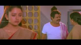 Repeat youtube video Pellichesukundam Movie || Soundarya Forced by Satyaprakash || Venkatesh, Soundarya, Laila