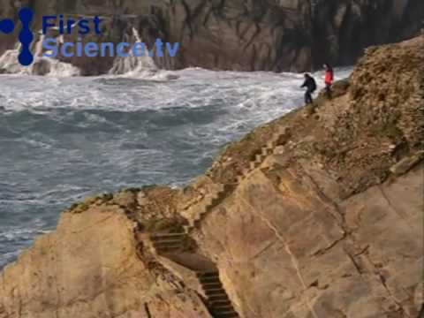 Man Swept Away By Giant Wave