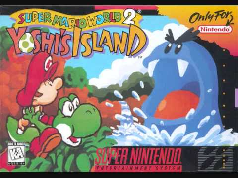 Super Mario World 2 Yoshi's  Island Music: Touch Fuzzy, Get Dizzy