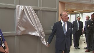 Prince Philip: The world's most experienced plaque-unveiler