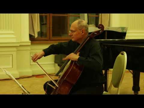 Rachmaninov: Vocalise. Transcription for cello and piano