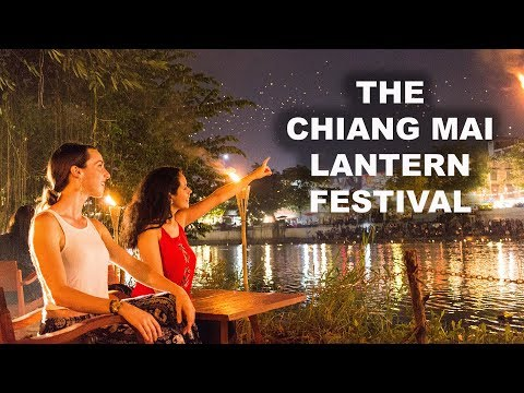 Unique Experiences in Thailand: THE CHIANG MAI LANTERN FESTIVAL