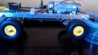 homemade 4x4 hobby truck (unimog) first run