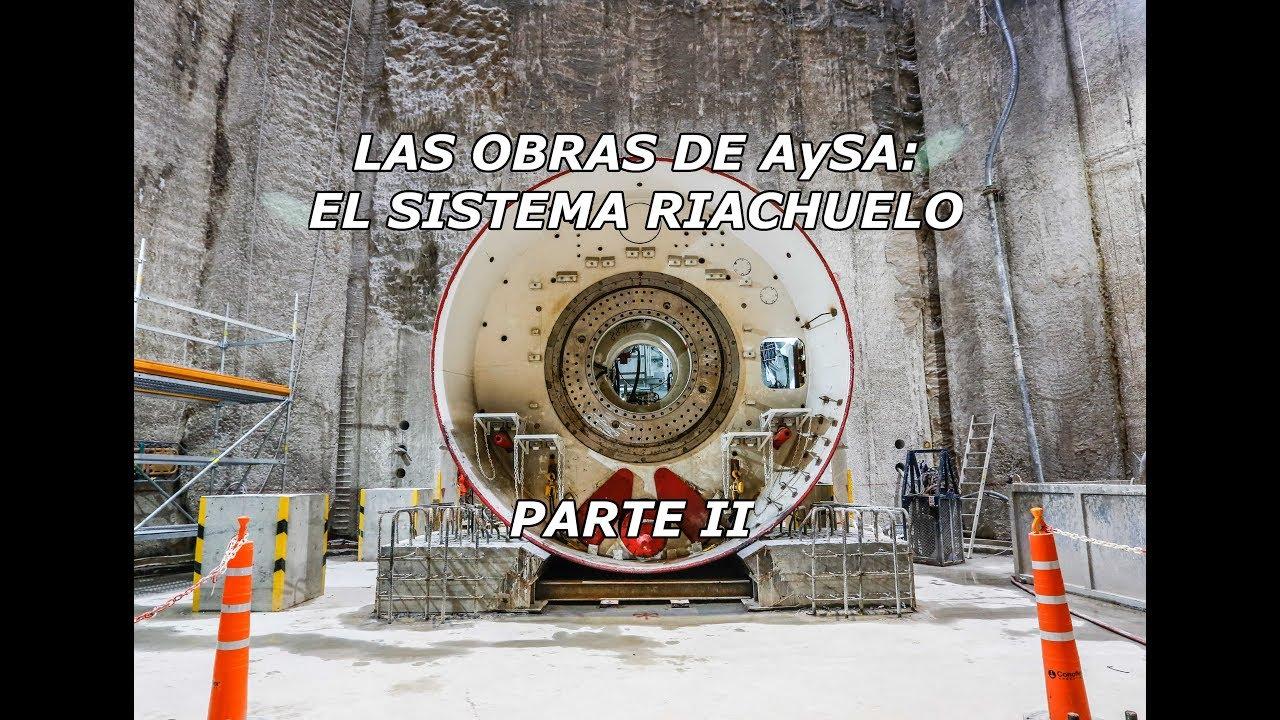 8ef9d5eb5 Las obras de AySA  El sistema Riachuelo (Parte 2) - YouTube