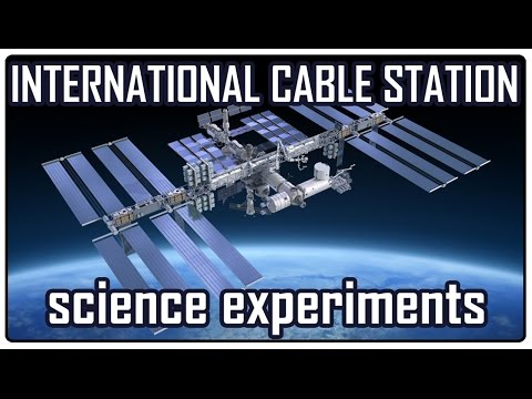 Proof that NASA & ESA are doing science on the ISS