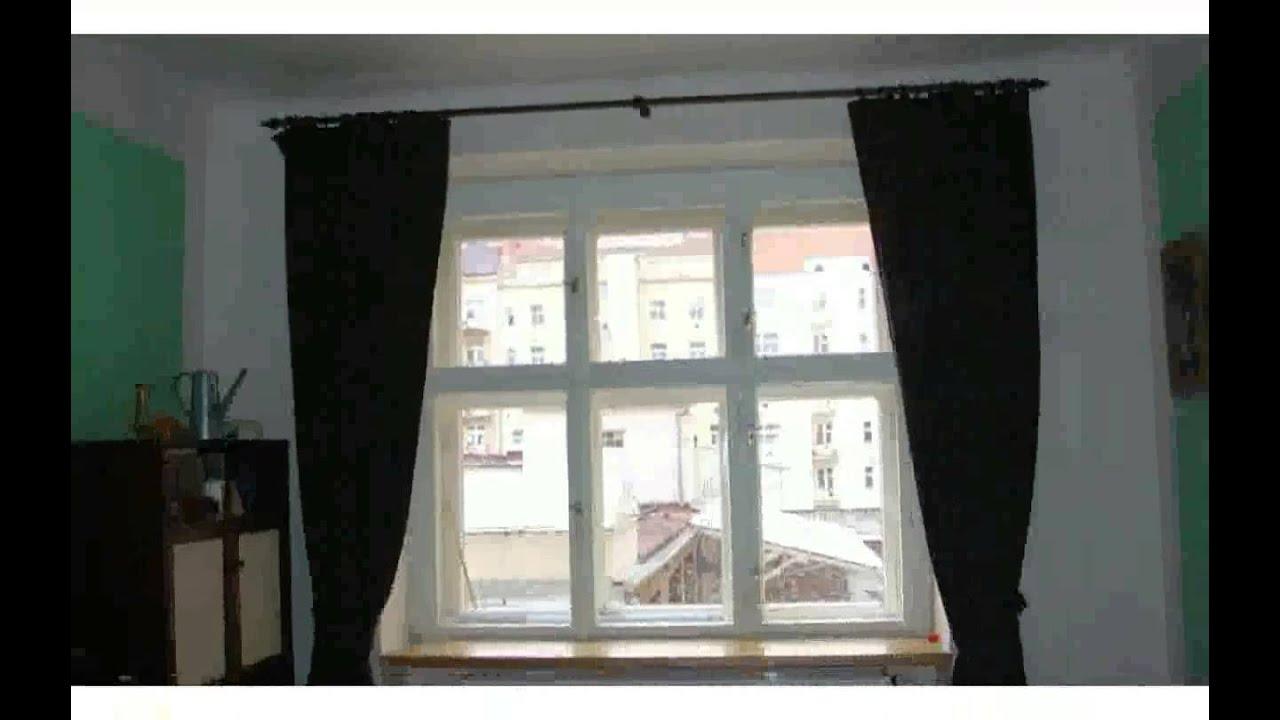 Fenster Gestalten Gardinen - bilder - YouTube