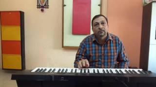 Lakhon Hai Nigaaho Main - Instrumental - keyboard by Milind Mohare