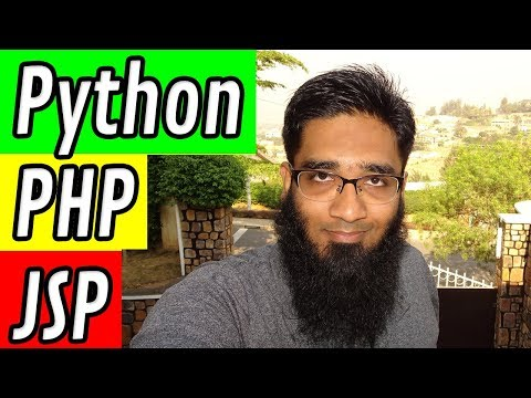 Python vs PHP vs JSP Programming ?