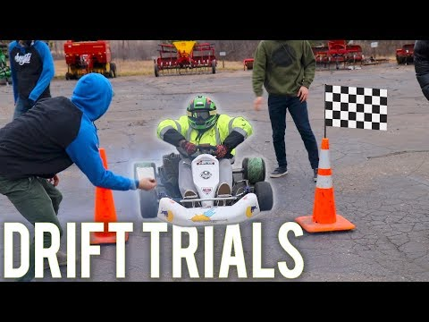 What happens when you put drift sleeves on a shifter kart?