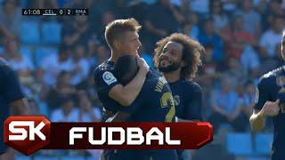 Strašan gol Tonija Krosa na meču Selta - Real   SPORT KLUB FUDBAL
