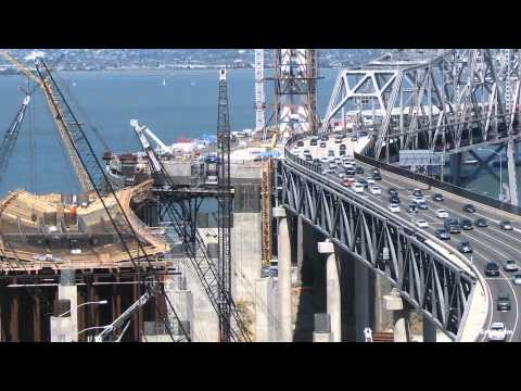 Official San Francisco-Oakland Bay Bridge Construction Time-Lapse