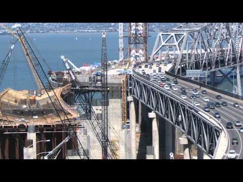 Official San Francisco-oakland Bay Bridge Construction