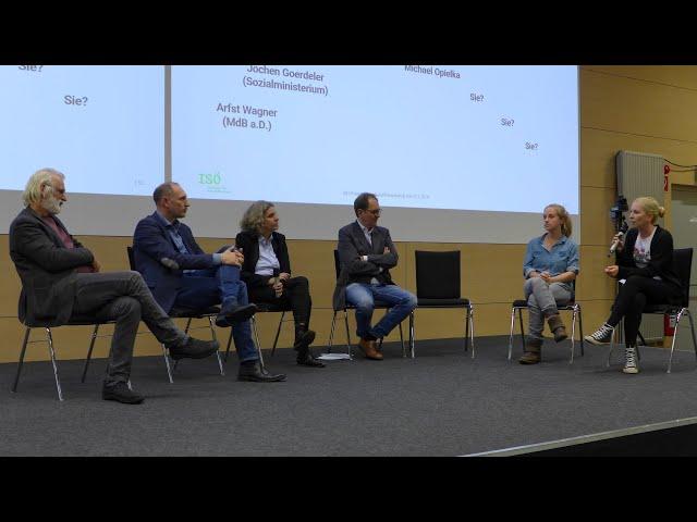 Fishbowl und Diskussion, Zukunftsworkshop Kiel 4.11.2019 ZLabSH