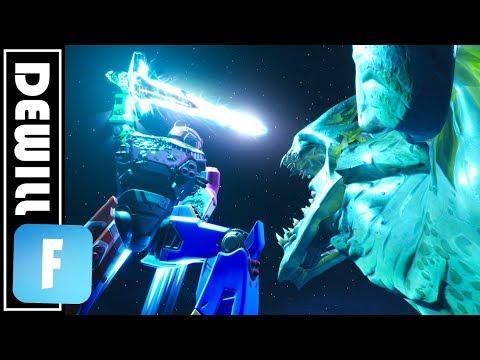 Mecha Vs. Monster ( Fortnite Season 9 Live Event Replay Edit )