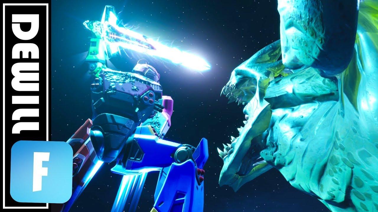 Mecha Vs Monster Fortnite Season 9 Live Event Replay Edit