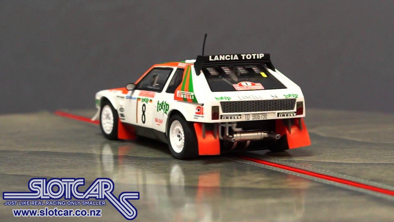 c3638 scalextric dpr slot car lancia delta s4 totip 8 rally slotcar