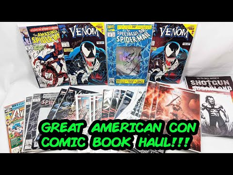 Comic Book Haul From The Great American Comic Con 2019!