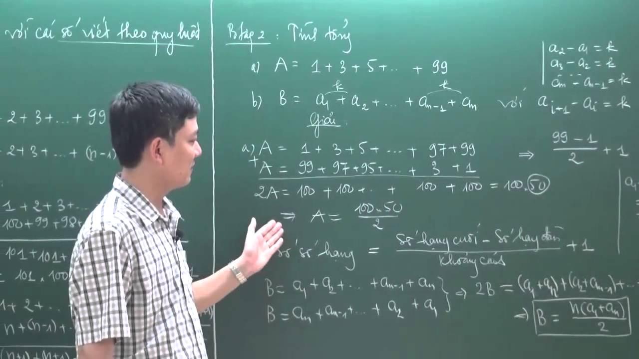 Toán Nâng Cao lớp 7 – Phép tính với các số viết theo quy luật (T1) – Thầy Tạ Anh Sơn [Hocmai.vn]