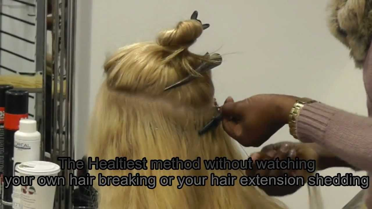 Brazilian Knot Hair Extension Youtube