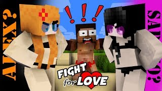 MONSTER SCHOOL : HEROBRINE IS STRUGGLING IN CHOOSING BETWEEN ALEX AND SADAKO - FUNNY ANIMATION