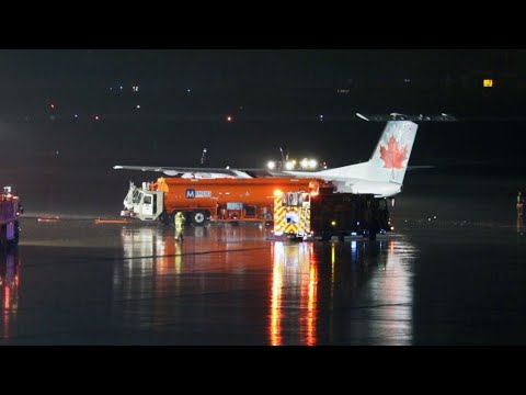 Fuel tanker collides with Air Canada plane at Pearson