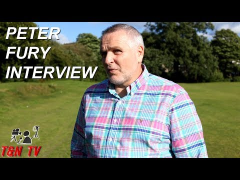 INTERVIEW WITH PETER FURY - DISCUSSING HUGHIE FURY VS JOSEPH PARKER